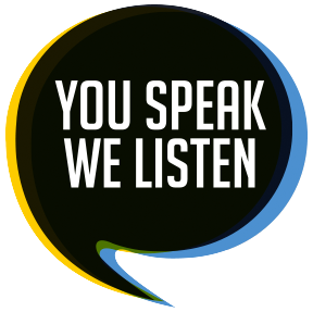 You Speak, We Listen